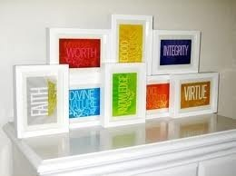 young women: Women Ideas, Young Women Values, Frames, Display, Youngwomen, Yw Values, Girls Rooms, Rooms Decor, Mormons