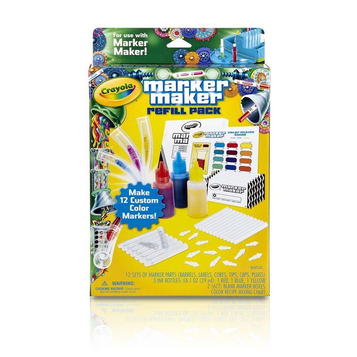 Crayola Marker Maker Refill Pack, Multicolor