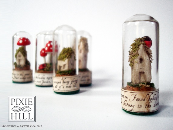 Pixie Hill: How to... make Faerie Specimens