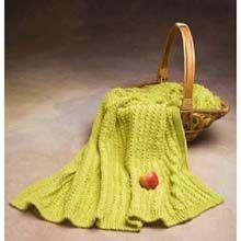 Easy-Knit Throw