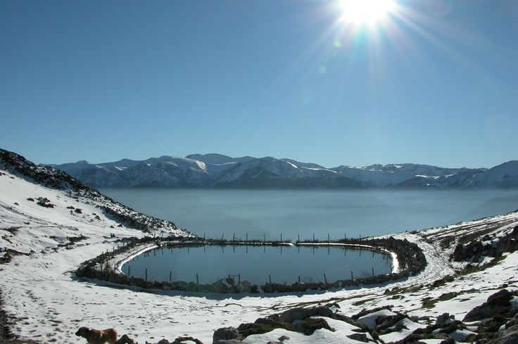 Laguna de Sobia. TE-06 Ruta de la Sierra de la Sobia (PR-AS 190) Teverga