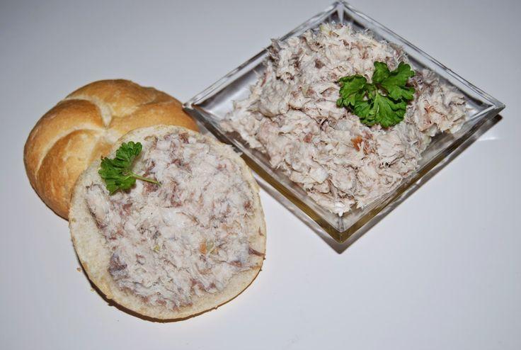 O kuchni z uczuciem : Pasta z wędzonej makreli