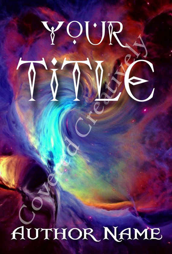 PreMade eBook Cover  Space by CoveredCreatively on Etsy, $30.00 - Angela Fristoe does some amazing book covers, so if you need one, check her out :)