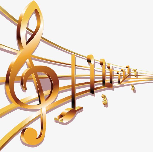 As Notas De Ouro Notas A Musica A Musica Imagem Png E Psd Para Download Gratuito Notes Clip Art Classic Chair