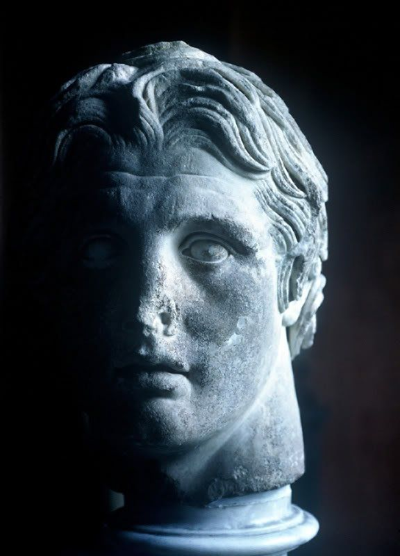 Alexander the Great, King of the ancient Greek kingdom of Macedonia