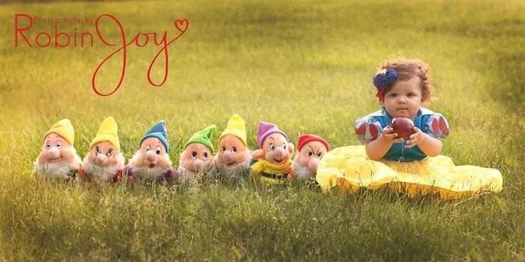 Disney inspired Snow White children's photography inspiration