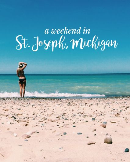 St Joseph, Michigan Travel Guide || Things to do, places to eat, where to stay, and the best dessert & coffee stops! http://www.rachelrosaliedesign.com/a-weekend-in-st-joseph-travel-guide/