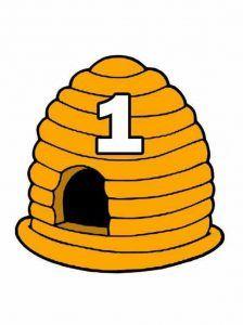 bee honey math activities for kids « funnycrafts