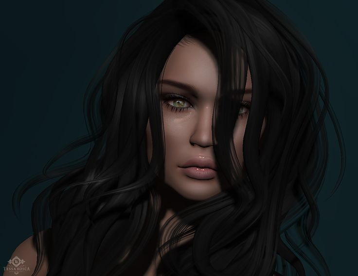 Too Good at Goodbyes #secondlife #headshot #sl