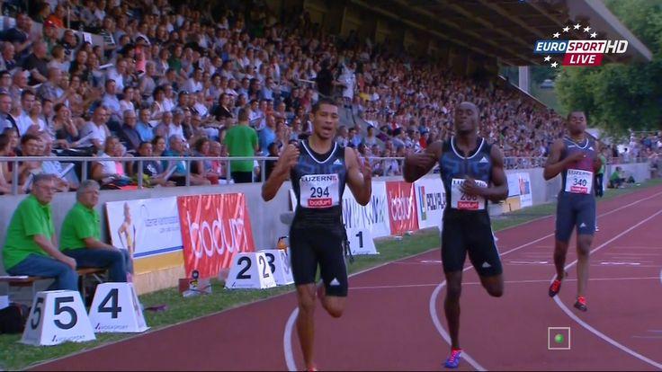 Wayde Van Niekerk runs 19.94 Breaks SA 200m NR Luzern 2015