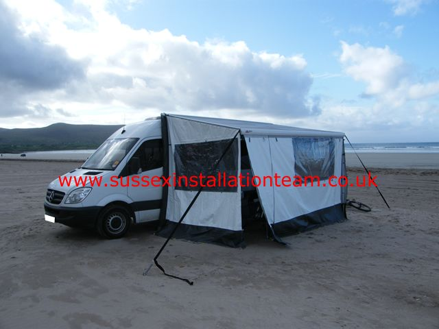 Mercedes Sprinter Full Windsurfing Motorhome Conversion Pictures From Sussex Installation Team LTD