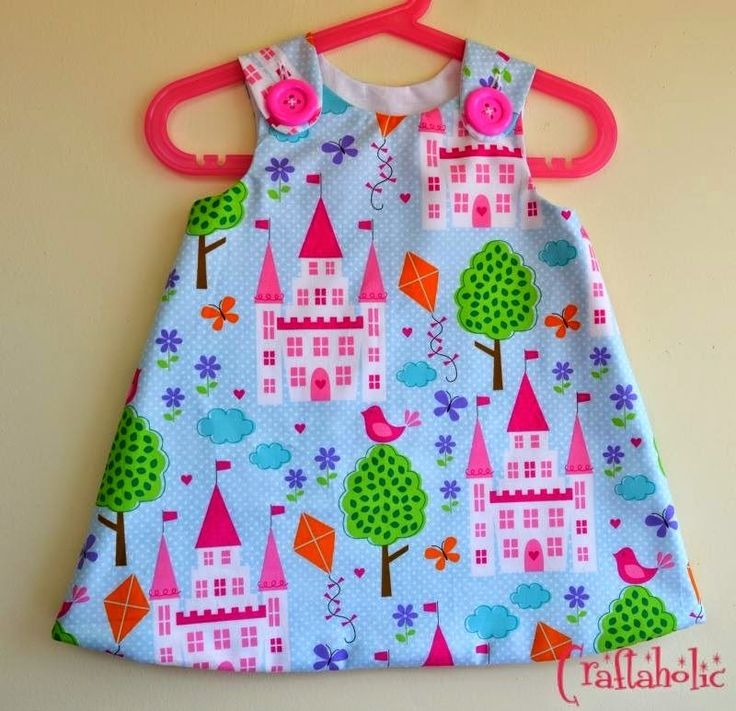 Princess and castles dress by Craftaholic