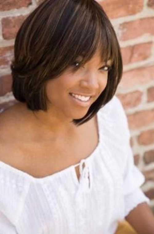 Layered Bob Haircuts for Black Women