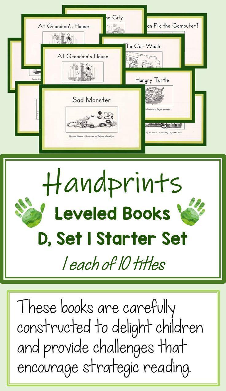 Handprints D Set 1 Starter Set For Readers Moving Toward Independence Phrased And Fluent Reading Mor Fluent Reading Guided Reading Resources Guided Reading [ 1273 x 736 Pixel ]