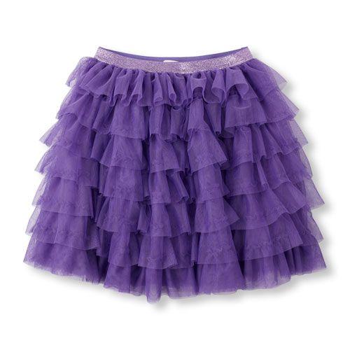 Girls Tiered Tutu Skirt - Purple - The Childrenu0026#39;s Place   *Girl skirtsandskorts skirts ...