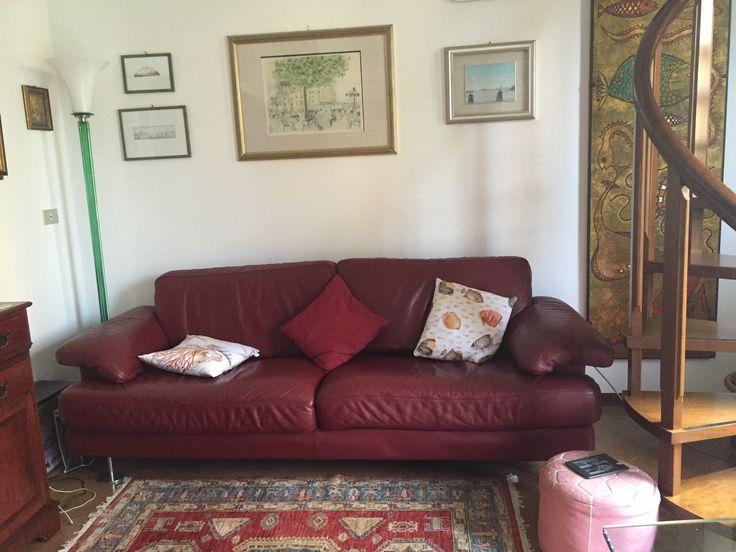 Il divano del soggiorno