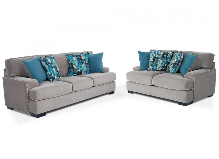 Pamela sofa loveseat living room sets living room for Bobs furniture living room sets