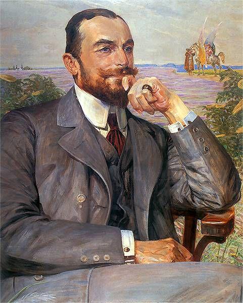klimt-artwork:  Jacek Malczewski, (Polen) Louis Zelenski. 1912