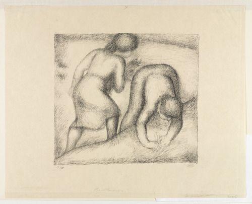 Aristide Maillol. The Harvesters (Les Glaneuses). (ca. 1926)