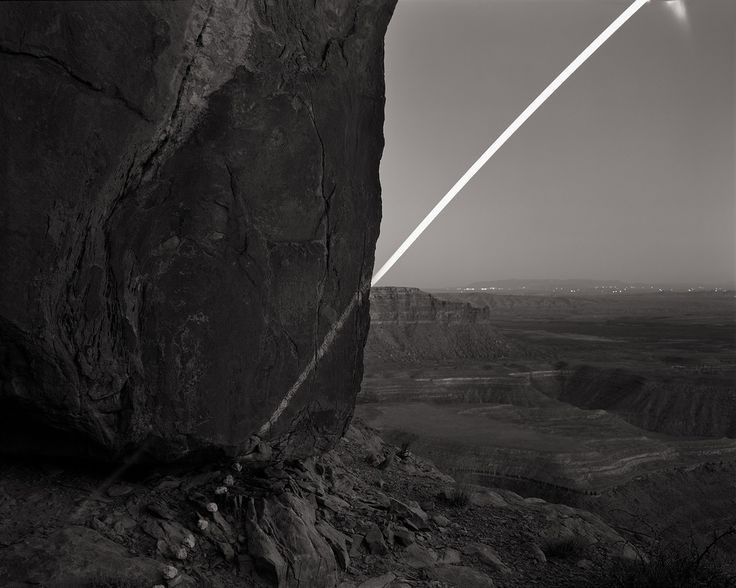 Chalk Moonrise, Muley Point, Utah © David Shannon-Lier, 1st place, series, LensCulture Exposure Awards 2015.  Of Heaven and Earth - Photographs by David Shannon-Lier | LensCulture