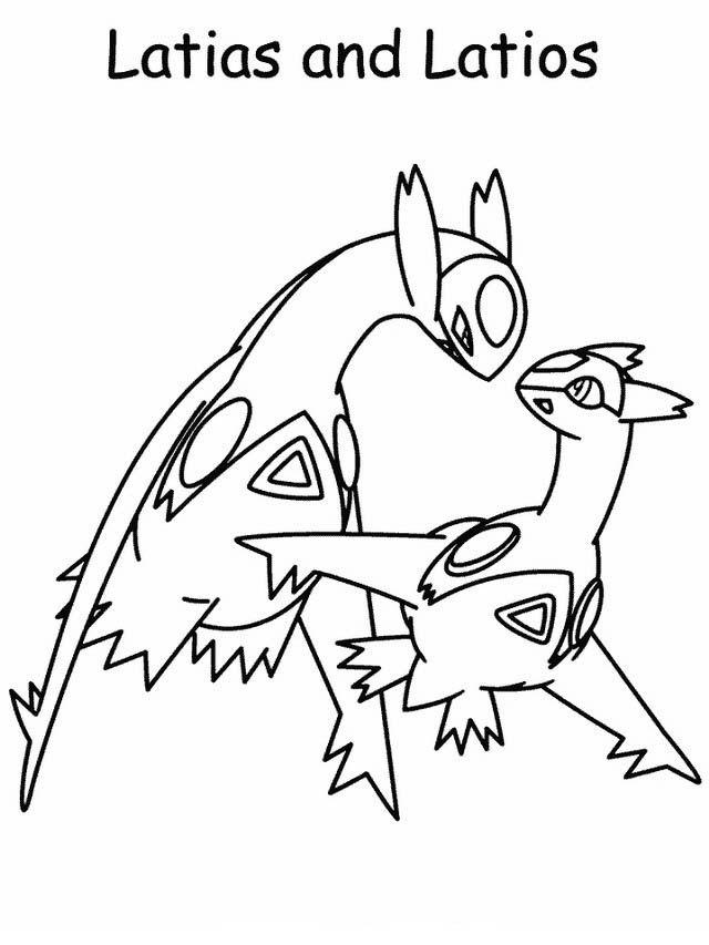 Disegni da colorare per bambini. Colorare e stampa Pokemon 62