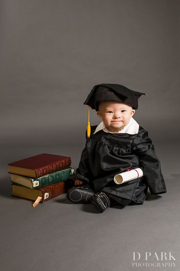 What can some people with Down Syndrome now do?  Graduate college    My baby posing as a college graduate for World Down Syndrome Day!