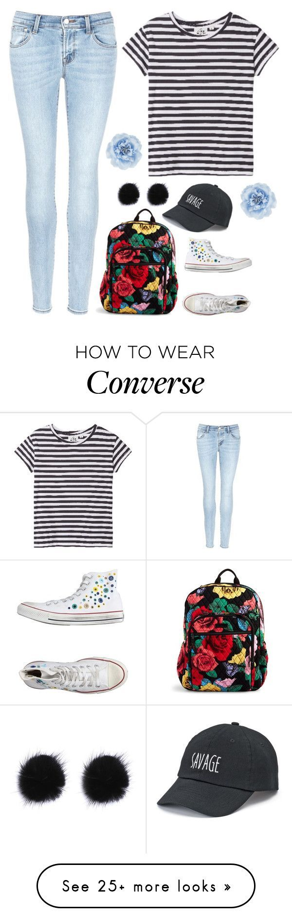 """What Should I Do For My Next Set?"" by treelights29 on Polyvore featuring Cheap Monday, J Brand, Vera Bradley, Converse, SO and Monsoon"