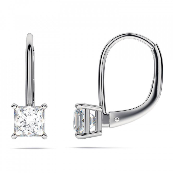 Awesome 1 2 Carat Diamond Earrings Princess Cut Check More At Http