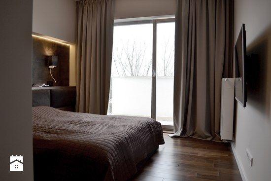 Sypialnia styl Nowoczesny - zdjęcie od MODIFY - Architektura Wnętrz