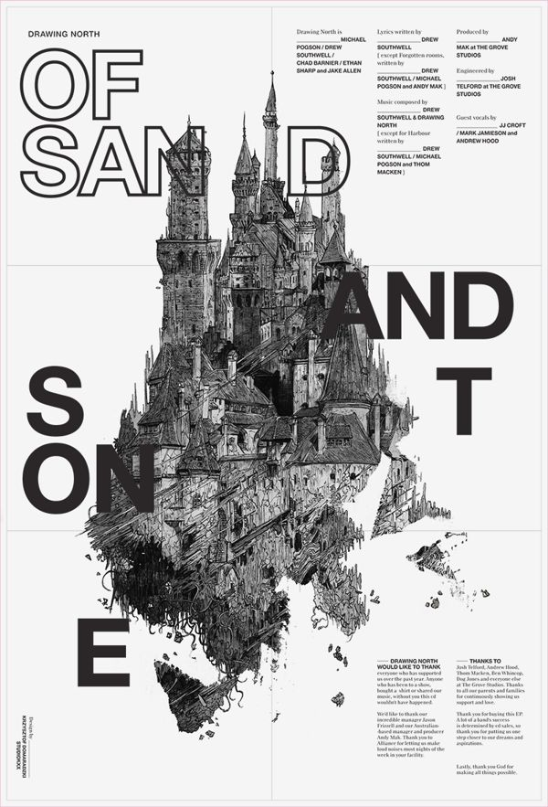 Of Sand and Stone on Behance