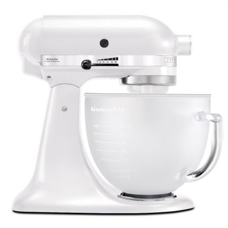 I want it!!! :) KitchenAid Artisan Stand Mixer - The 'tried-and-tested-everyone-should-have-one' mixer, you'll have spotted it on food sets, on food shoots and in happy kitchens all over the world. Let it walk into your kitchen, and before long it'll crawl into your heart.