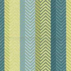 Tissu décor maison - Signature Malavita 1101 - bleu, vert