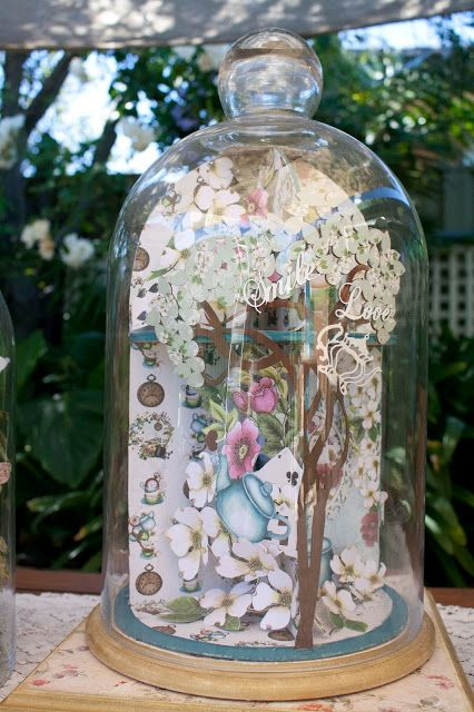 Artdeco Creations Brands: Enchanted Tea Party Dome by Guest Designer Denise Boddey