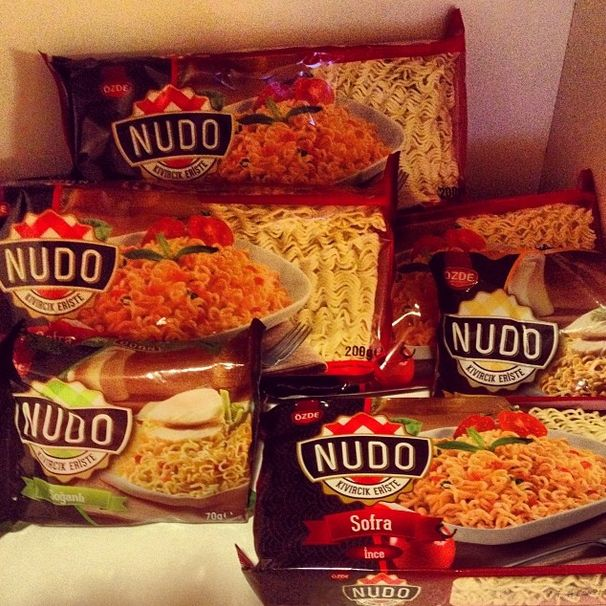Damak tadına güvenenler artık #Nudo'dan başka bir şey yemeyecek.