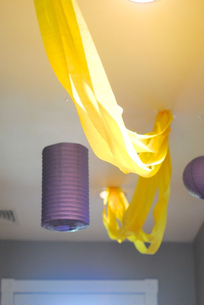 Rapunzel Turns Five! {Tangled Birthday Party Ideas}