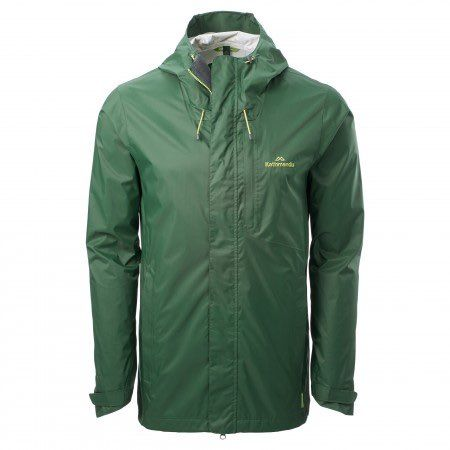 Kathmandu - Trailhead Men's Rain Jacket - NOW: $149.98  REGULAR PRICE: $349.98 - Waterproof jacket for easy hikes, with pack-friendly chest pocket and a fit that moves with you. An inner zip lets you adapt to changing temps by attaching the Trailhead fleece (sold separately).