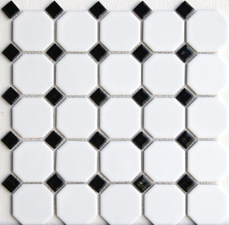 Kaakelikeskus - black and white tiles.