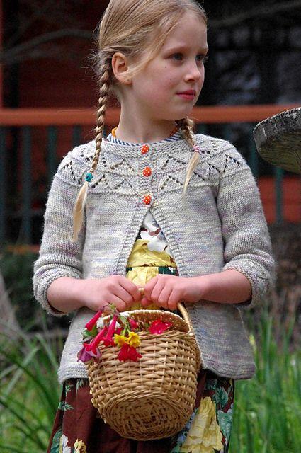 Beautiful Girls Cardigan Pattern :-) Ravelry: Granny's favourite pattern by Georgie Hallam