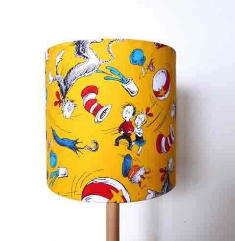 Dr Seuss Yellow Shade 20d x 20h  $60