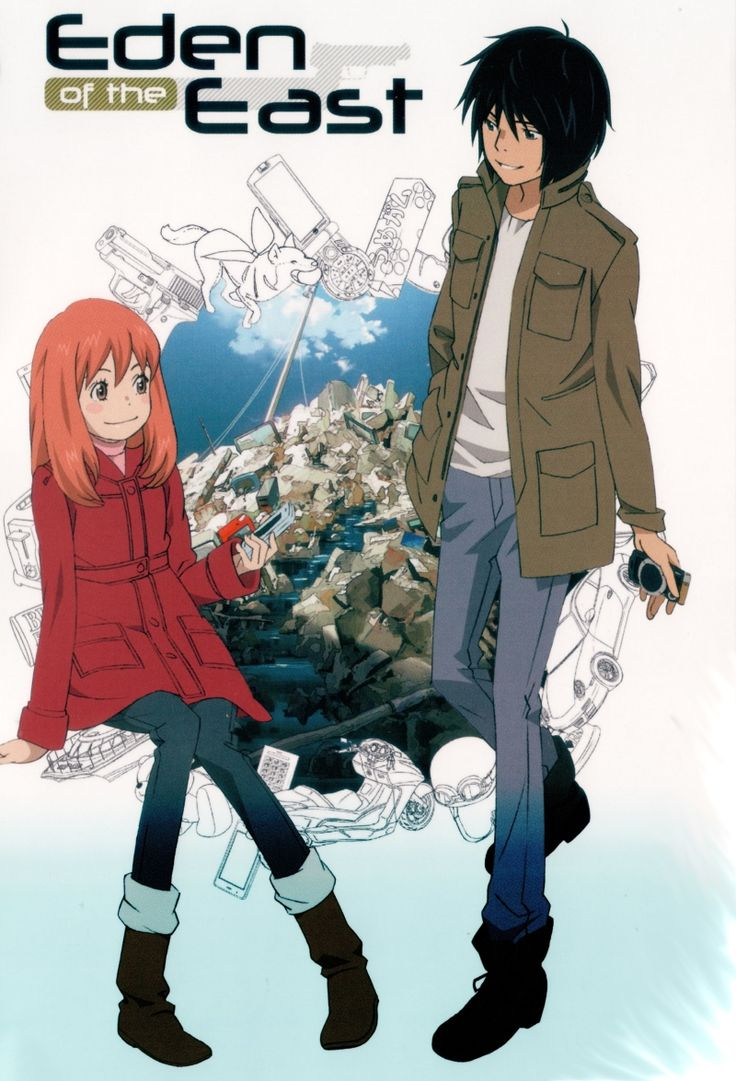 Eden of the East Anime. Soo Awesome❤️