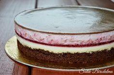 SÜTIK BIRODALMA: Málnás-csokoládés joghurttorta / Raspberry-chocolate-yogurt cake