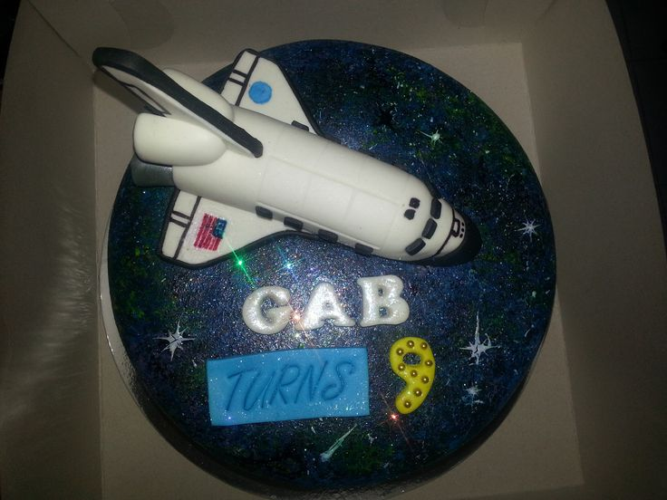 How To Make Space Shuttle Atlantis Cake