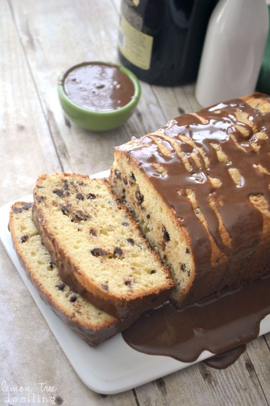 Bailey's Chocolate Chip Pound Cake