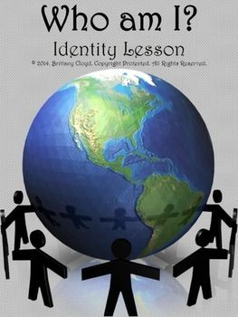 Lesson to accompany Identity Unit or to stand alone. Includes background information on identity and differences, group activity in which students relate to one another, quick lesson on acrostic poems and then student creation worksheet for poem about self.