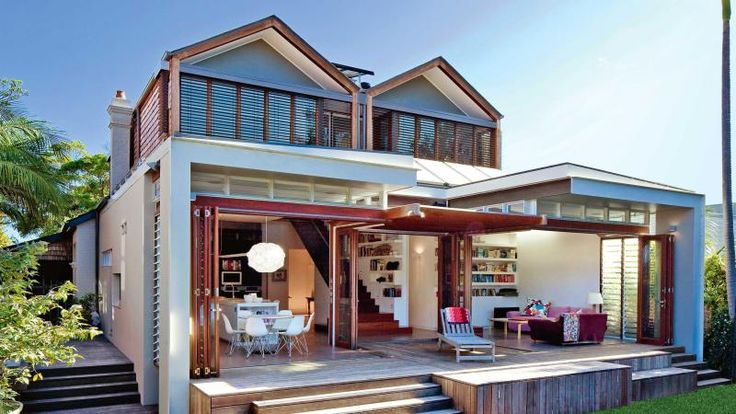 Extending a Californian bungalow, from insideout.com.au. Photography by Anthea Williamson.