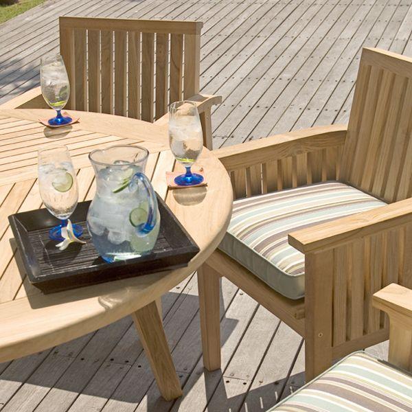 Teak Outdoor Dining Set (5 piece set) | Craftsman Collection