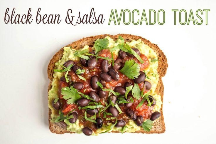 mexican avocado toast