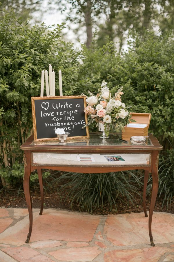 Love Recipe With Box Photo By Mustard Seed Photography View More English Garden Weddingsenglish