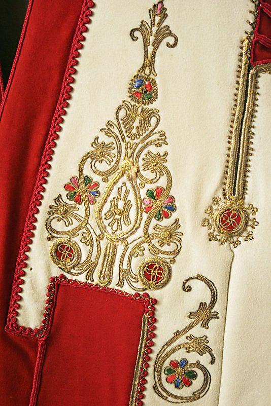 Jacket ( detail )       19th century      Greek      cotton, silk