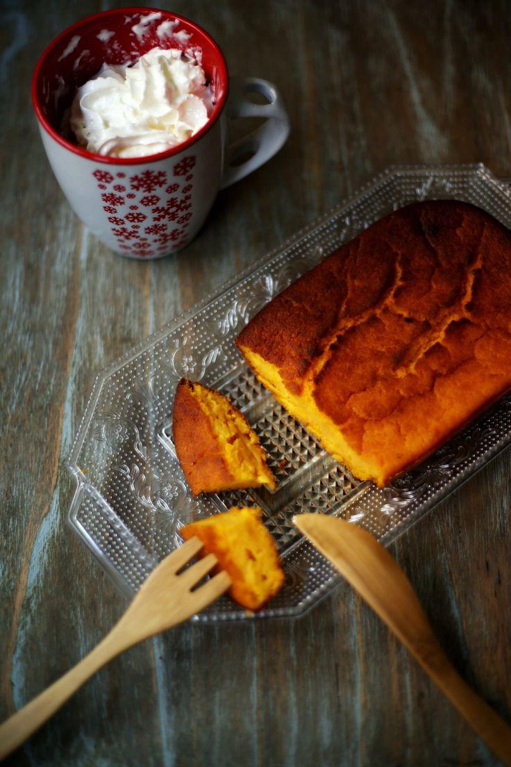 Pastel de zanahoria y calabaza Carrot cake and pumpkin